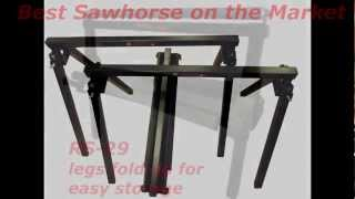 Sawhorse, Professional Work Stands