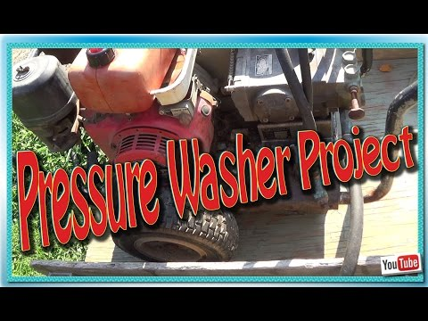 Pressure Washer Project