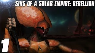Sins of a Solar Empire: Rebellion Vasari Loyalist Part 1 3vs3 Multiplayer Gameplay