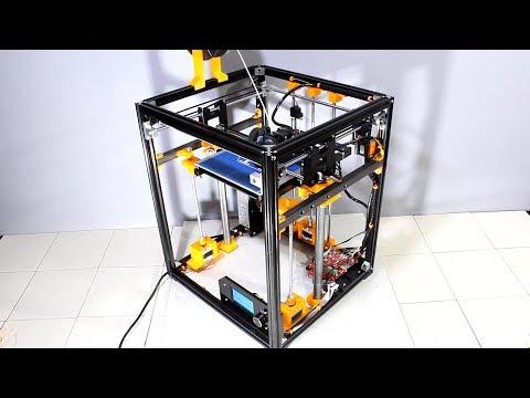 Modifying a Tronxy X5 3D printer to get quality prints - YouTube