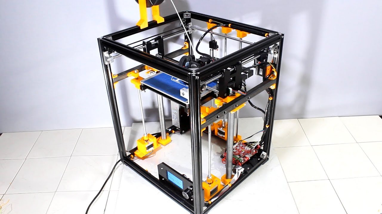 Modifying a Tronxy X5 3D printer to get quality prints