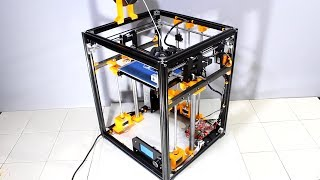 Modifying a Tronxy X5 3D printer to get quality prints