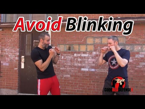 How to avoid Blinking in a Fight