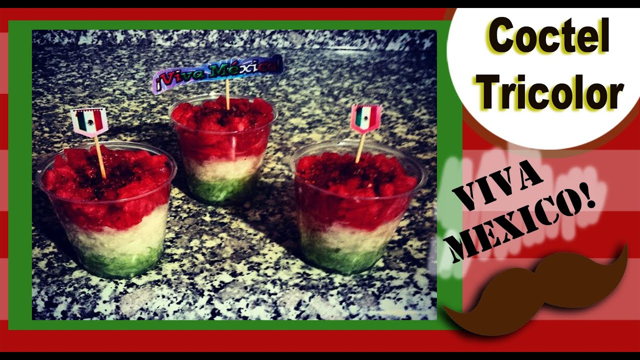 Coctel de frutas y verduras tricolor youtube for Como secar frutas para decoracion
