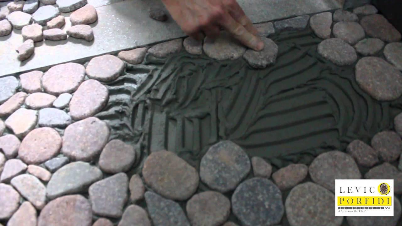 Célèbre Posa piatto doccia in pietra - YouTube UJ56