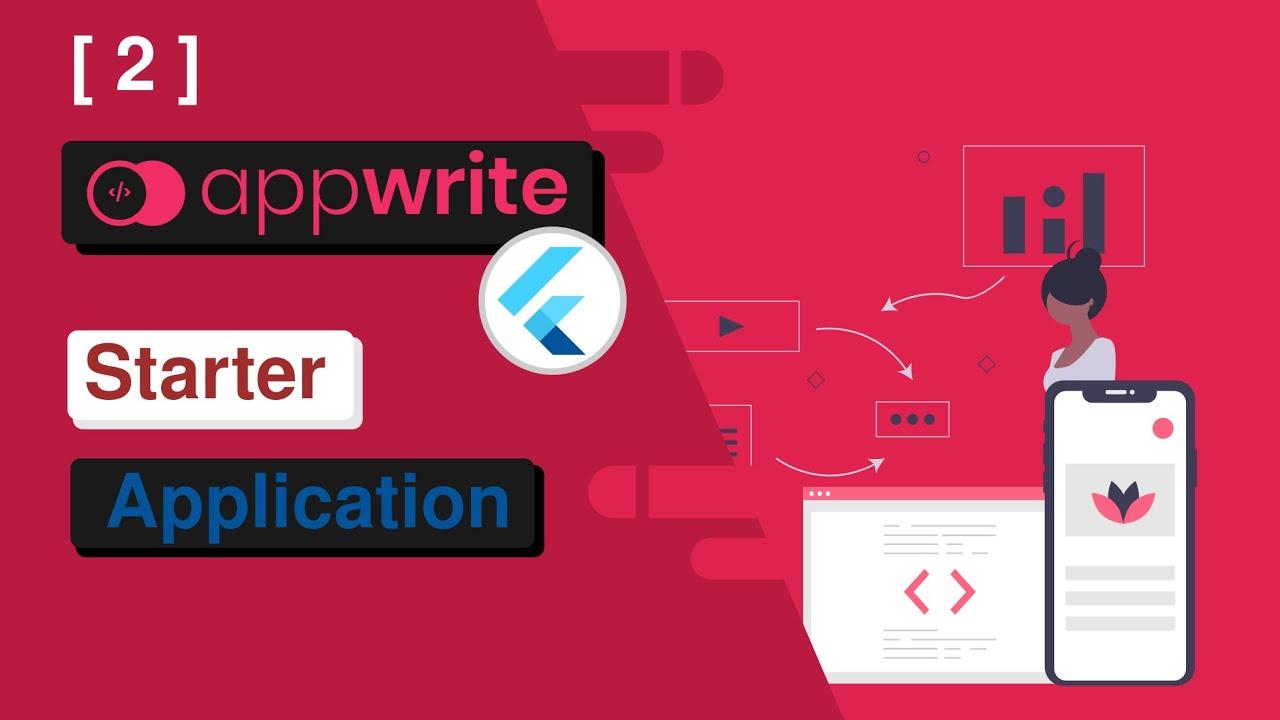 Flutter + Appwrite Starter Application Template [2]