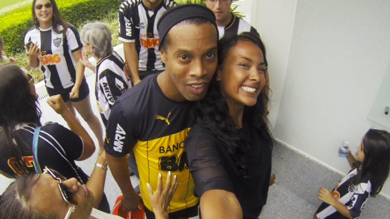 Selfie Challenge With Ronaldinho