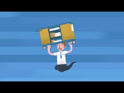 Cartoon Corporate Video :  Global Industrial - How it works