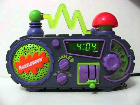 NICKELODEON Timeblaster Rise & Slime Alarm clock