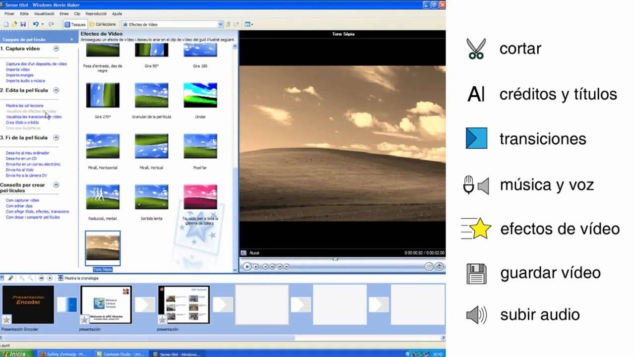 transiciones windows movie maker doovi
