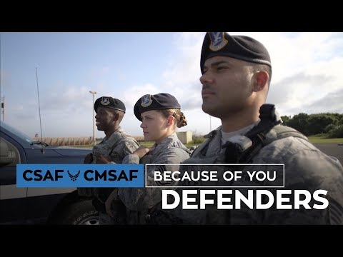 CSAF & CMSAF Because of You - Defenders