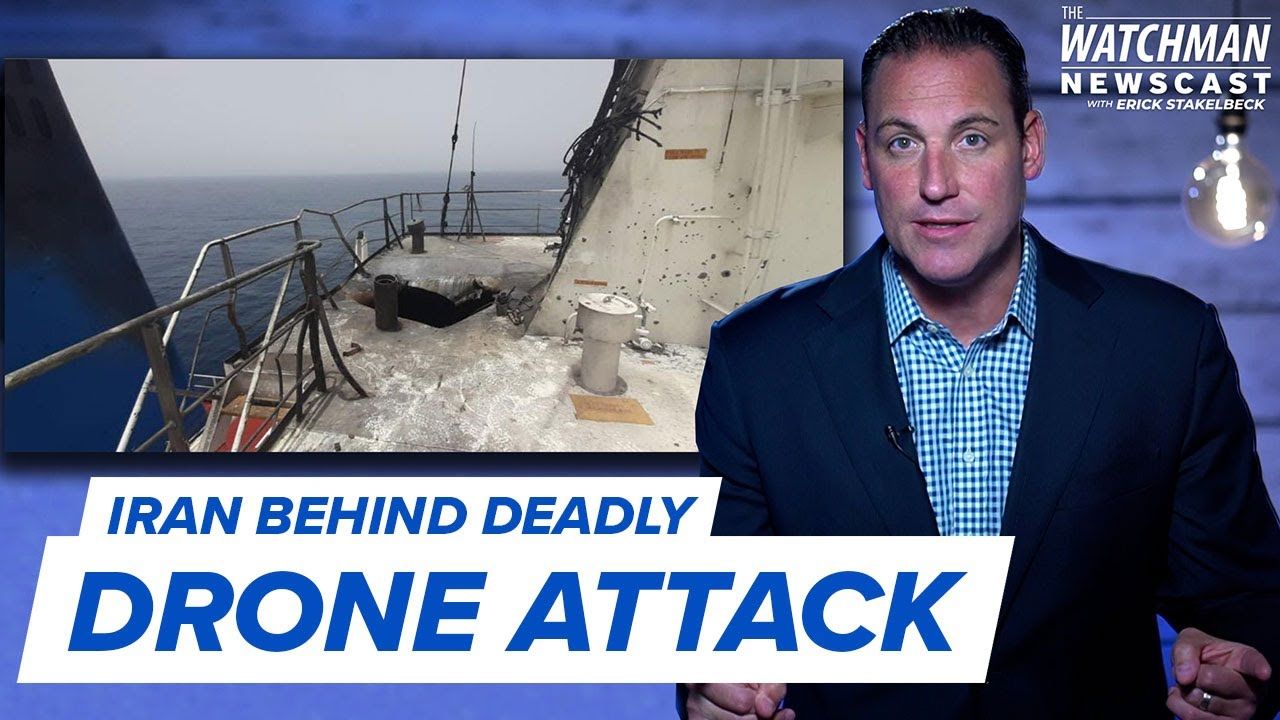Israel Vows Response to Iran Drone Attack as U.S. & UK Pledge Support | Watchman Newscast