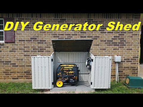 DIY Generator Shed