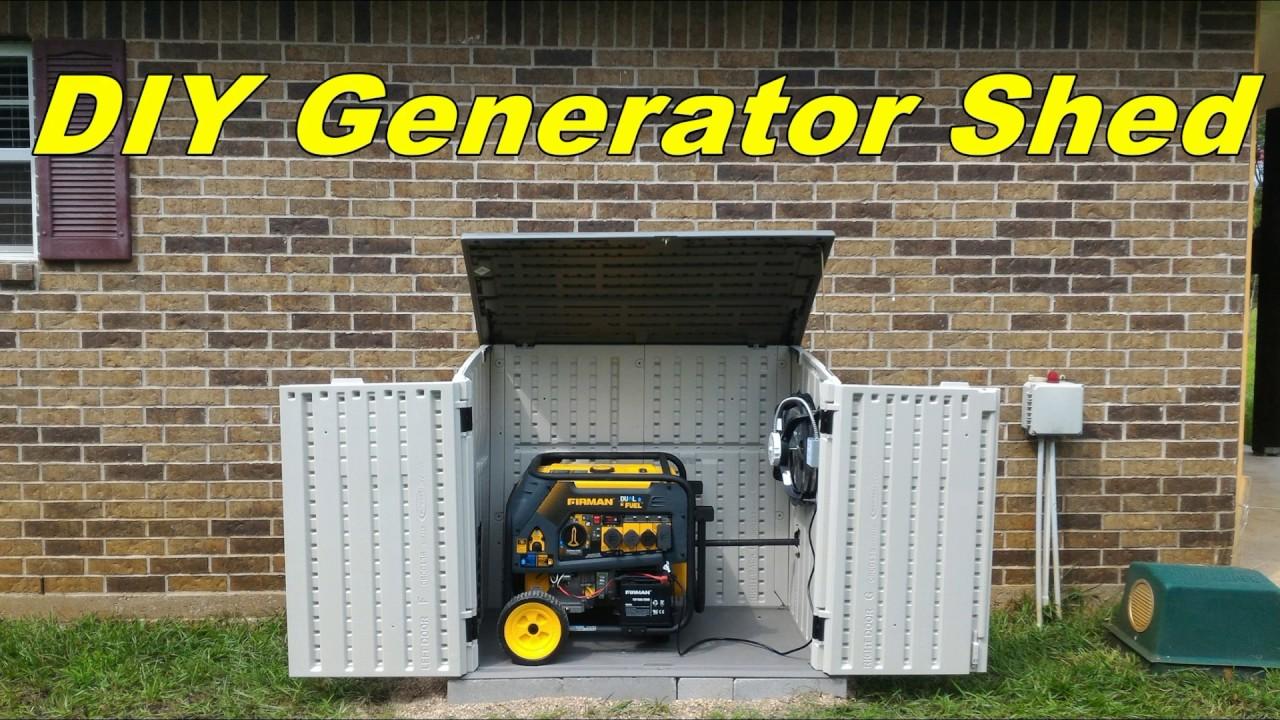 Homemade Portable Generator Enclosures | emergency power ...