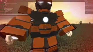 Lets Play ROBLOX Ironman battles with rex , New update! , new suits and new mechanics!