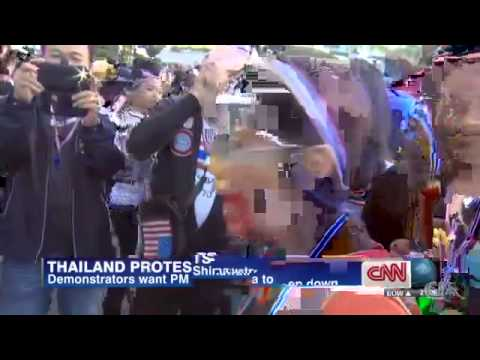 Thousands march against Thai government