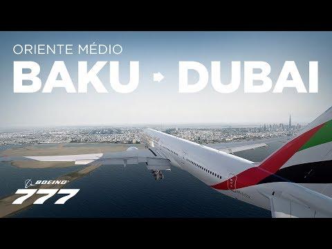 Prepar3Dv4 - B777-300 / Baku → Dubai