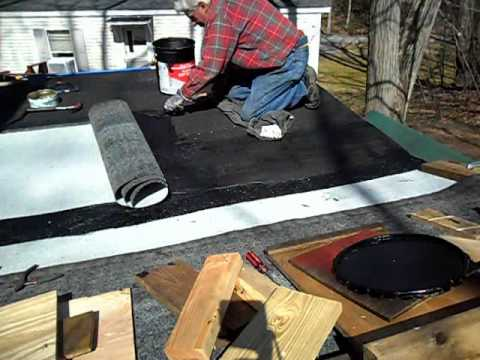 Roll Roofing Part 2 Avi Youtube
