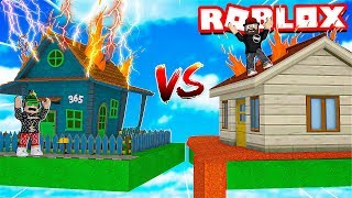 ROBLOX HORRIFIC HOUSING / SURVIVE ON A TINY HOUSE AND BE THE WINNER!!