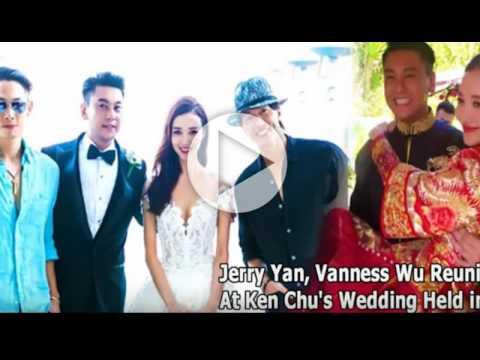 Jerry Yan Vanness Wu Reunited At Ken Chu S Wedding Held In Bali