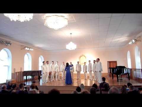 Мужской камерный  хор НУК ДКА Комсомольска -на-Амуре - Купалинка