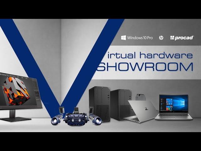 Virtual Hardware Showroom odc.1: HP Zbook Fury 15 G7, Firefly, Power,  Studio, Create