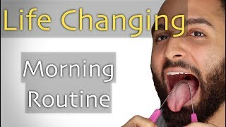 The exact morning routine that's changing my life. Much love y'all.