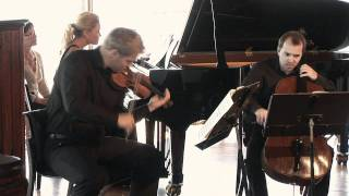 Beethoven Piano Trio in C-minor, Mvt. 3 - Menuetto (Julie & David Coucheron, Baltacigil)