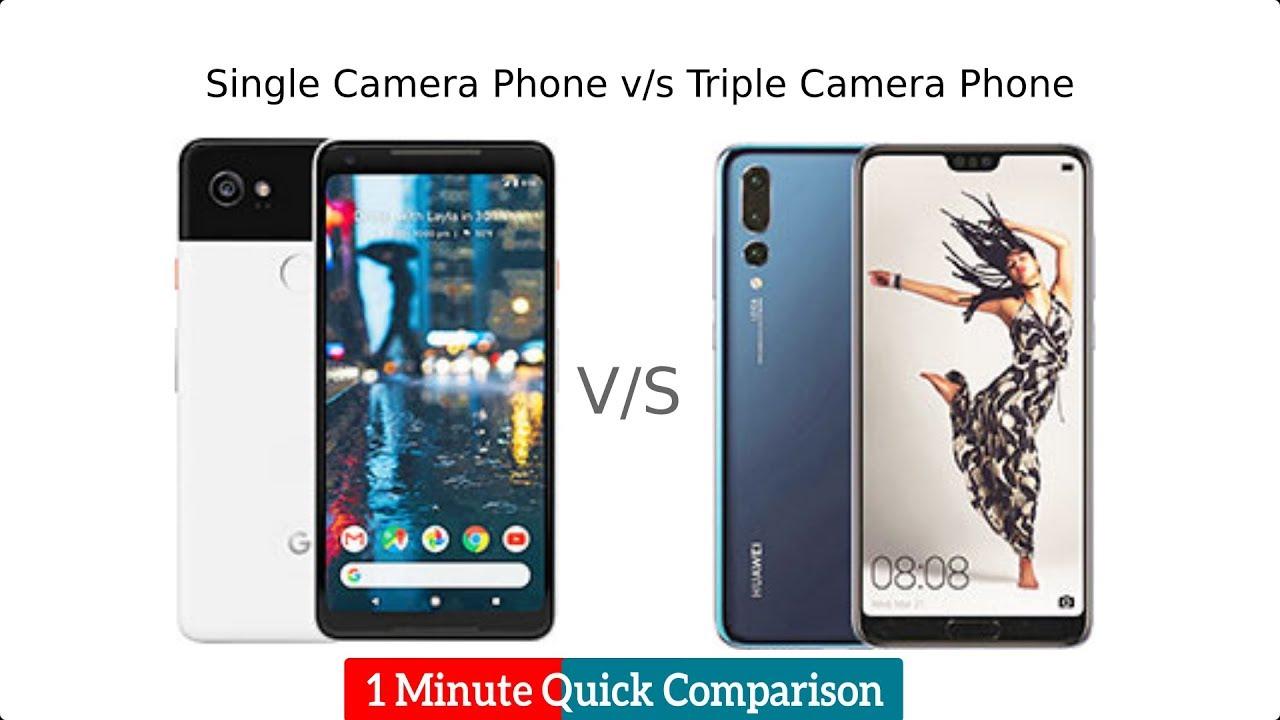 Huawei P20 PRO vs Google Pixel 2 XL 1 Minute Comparison