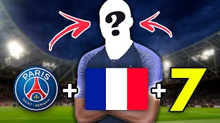 GUESS THE PLAYER CLUB NATIONALITY JERSEY NUMBER QUIZ FOOTBALL 2021