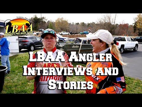 2019 Lady Bass Anglers Association Angler Interviews At Lake Hickory