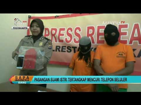 Lagi Bulan Madu, Pasutri Ditangkap karena Mencuri Ponsel Mp3