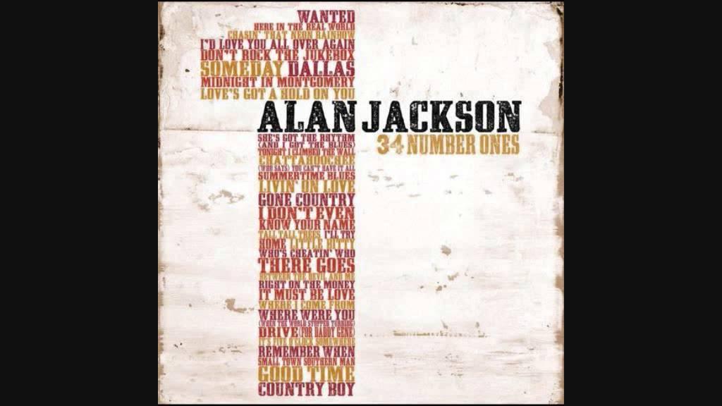 ALAN JACKSON - RING OF FIRE LYRICS
