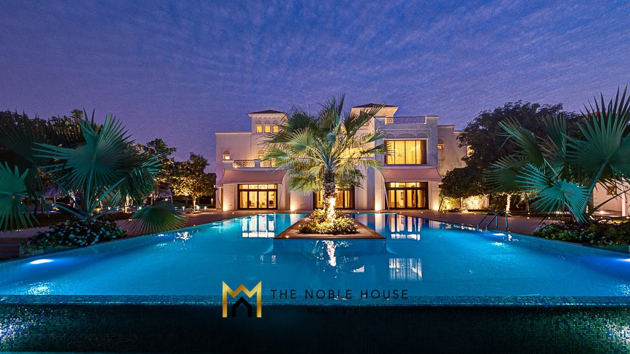 The noble house real estate million dollar homes in for Luxury house in dubai