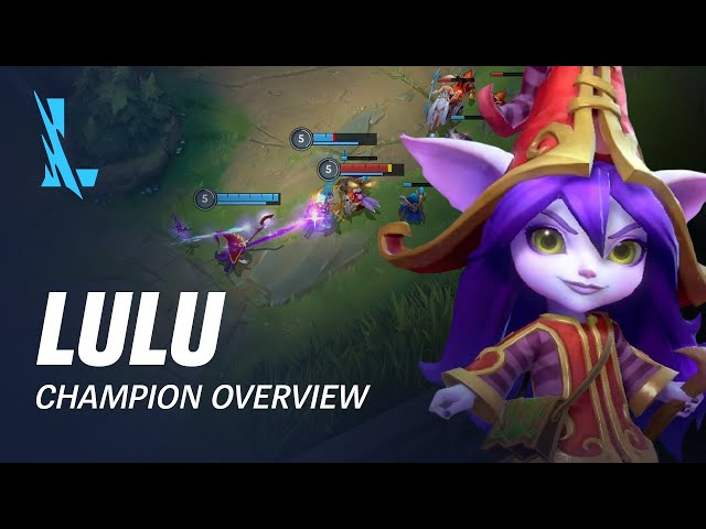 Lulu Champion Overview | Gameplay - League of Legends: Wild Rift