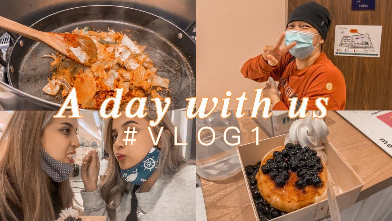 A DAY WITH US! ❤️ || temenin sodara radiasi dan cobain boba pancake 😱😍
