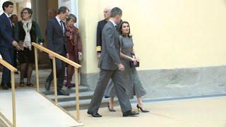 La Reina Letizia vuelve a confiar en el 'príncipe de Gales'