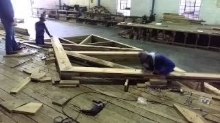 African Roof Trusses - Constructing Bolted Trusses