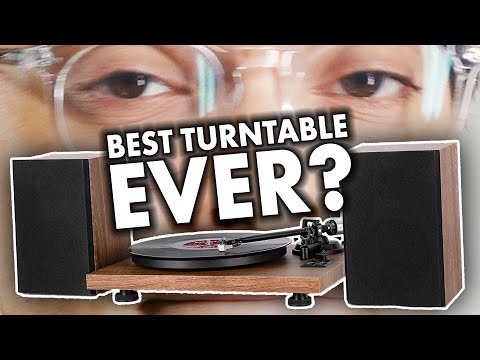 Onebyone Hi-Fi Turntable Stereo Set w/ bluetooth + speakers review