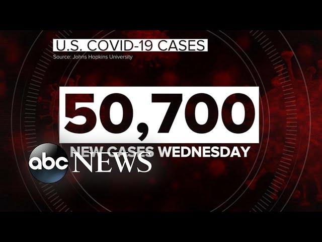 US coronavirus infections surge amid new warnings, closures   WNT