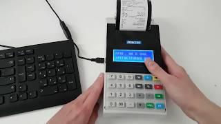 меркурий 115Ф. Регистрация (фискализация) и программирование кассового аппарата