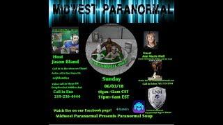 Paranormal Soup ep 138 guest Ann Marie Hoff