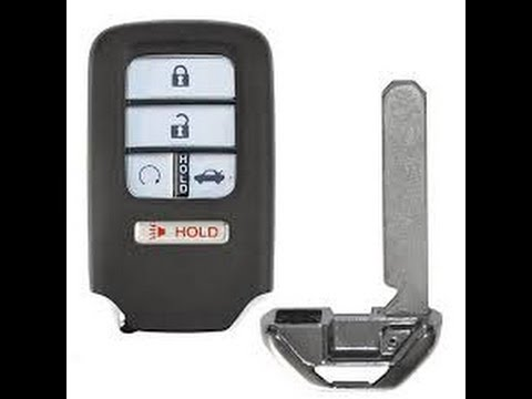 Honda Key Fob Battery replacement / change - Civic, Accord, CRV, Oydessy, Fit / Smart entry key ...