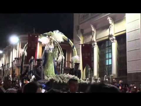 Our Lady of Good Success 2 - Feb 2 Dawn Procession in Quito