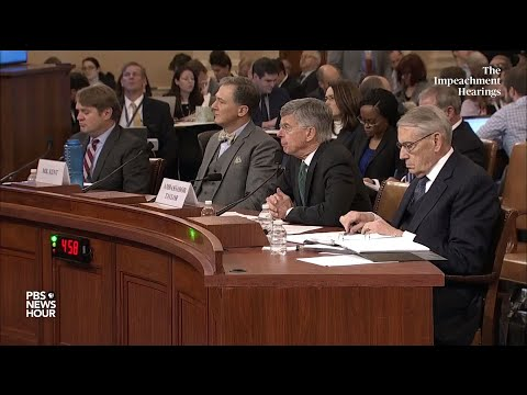 WATCH: Rep. Michael Turner's full questioning of George Kent and Bill Taylor