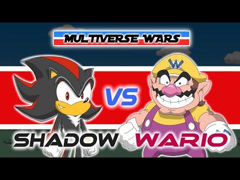 Shadow The Hedgehog Vs Wario Animation - MULTIVERSE WARS
