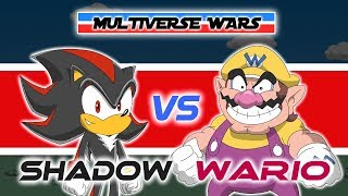 Shadow the Hedgehog vs Wario Animation - MULTIVERSE WARS