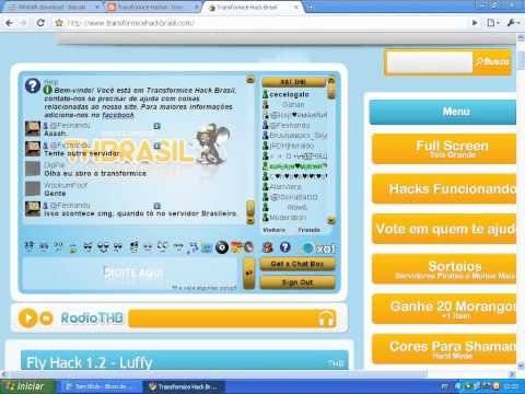 Tutorial Completo Do Fly Hacker 1.2 Do Luffy Para Transformice