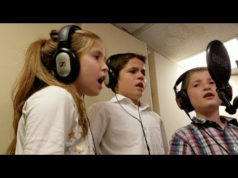 """The """"Thank you"""" Song, Klatzko kids compose and sing! Wow!"""