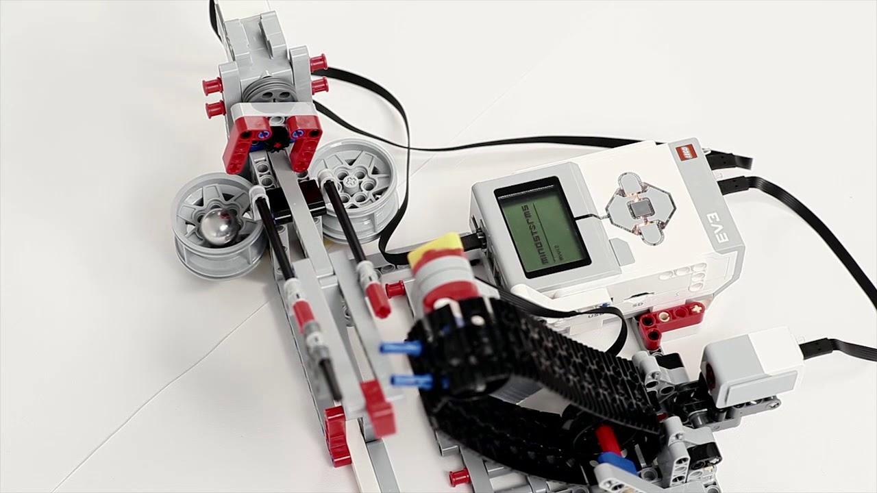 LEGO Education EV3 Ball Conveyor - YouTube